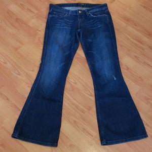 Levi's 524 too superlow flare leg jeans